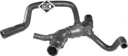 Metalcaucho 09290 - Шланг радиатора autodnr.net