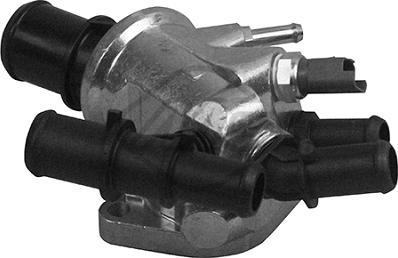 Metalcaucho 30210 - Фланец охлаждающей жидкости autodnr.net