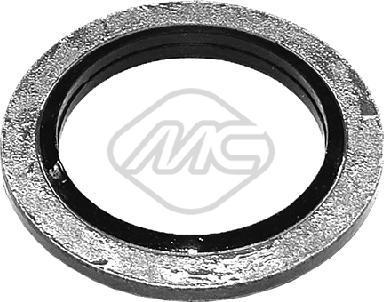 Metalcaucho 39208 - Уплотнительное кольцо, резьбовая пробка маслосливн. отверст. autodnr.net