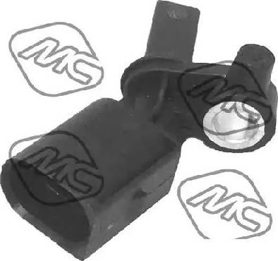 Metalcaucho 50116 - Датчик ABS, частота вращения колеса autodnr.net