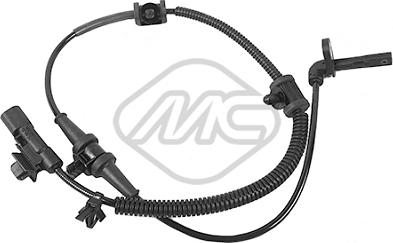Metalcaucho 50282 - Датчик ABS, частота вращения колеса autodnr.net