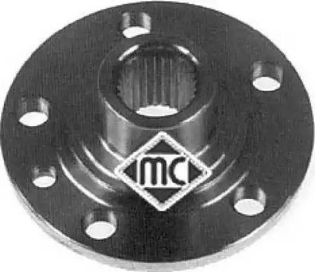 Metalcaucho 90038 - Маточина колеса autocars.com.ua