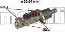 Metelli 05-0039 - Главный тормозной цилиндр autodnr.net