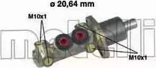 Metelli 05-0059 - Главный тормозной цилиндр autodnr.net
