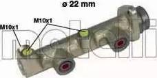 Metelli 05-0134 - Главный тормозной цилиндр autodnr.net