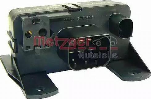 Metzger 0884001 - Блок управления, реле, система накаливания car-mod.com