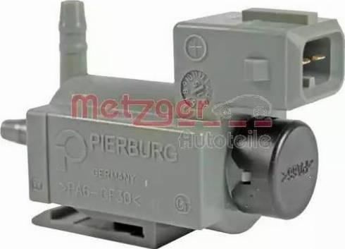 Metzger 0892203 - Переключающийся вентиль, заслонка выхлопных газов car-mod.com