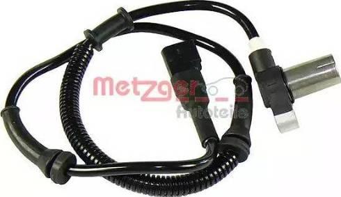 Metzger 0900291 - Датчик ABS, частота вращения колеса autodnr.net