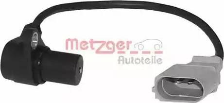 Metzger 0902075 - Датчик импульсов, коленвал avtokuzovplus.com.ua