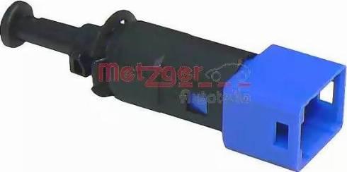 Metzger 0911083 - Выключатель, привод сцепления (Tempomat) car-mod.com