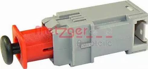Metzger 0911095 - Выключатель, привод сцепления (Tempomat) autodnr.net
