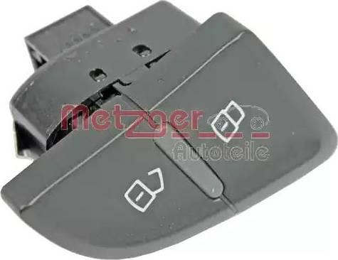 Metzger 0916295 - Выключатель, фиксатор двери car-mod.com