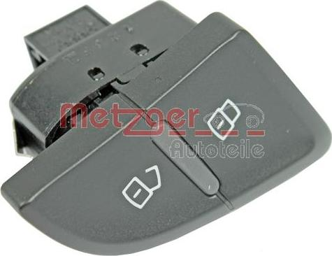 Metzger 0916487 - Выключатель, фиксатор двери car-mod.com