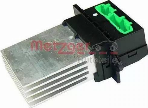 Metzger 0917001 - Блок управления, отопление / вентиляция car-mod.com