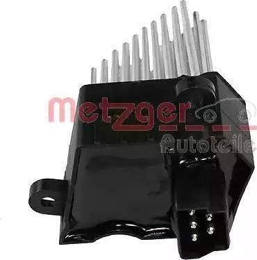 Metzger 0917015 - Блок управления, отопление / вентиляция car-mod.com