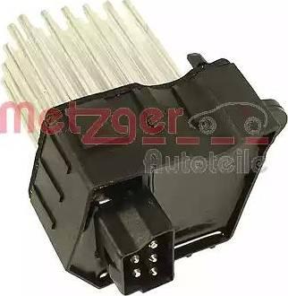 Metzger 0917017 - Блок управления, отопление / вентиляция car-mod.com