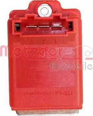 Metzger 0917019 - Блок управления, отопление / вентиляция car-mod.com