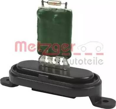 Metzger 0917066 - Сопротивление, реле, вентилятор салона car-mod.com