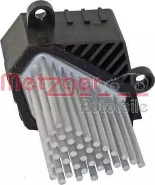 Metzger 0917224 - Регулятор, вентилятор салона car-mod.com