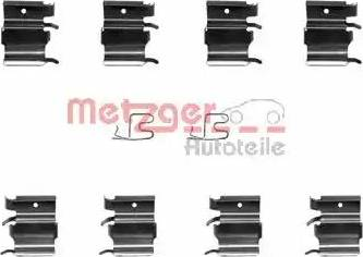 Metzger 109-1244 - Комплектующие, колодки дискового тормоза autodnr.net