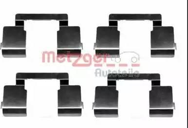 Metzger 109-1609 - Комплектующие, колодки дискового тормоза avtokuzovplus.com.ua