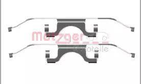 Metzger 109-1702 - Комплектующие, колодки дискового тормоза autodnr.net