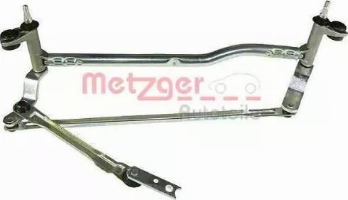 Metzger 2190111 - Система тяг и рычагов привода стеклоочистителя car-mod.com