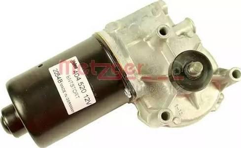 Metzger 2190571 - Двигатель стеклоочистителя car-mod.com