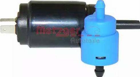 Metzger 2220011 - Водяной насос, система очистки окон car-mod.com