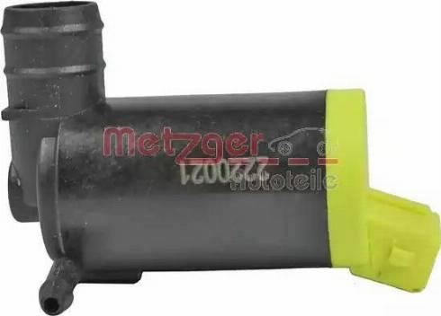 Metzger 2220021 - Водяной насос, система очистки окон car-mod.com