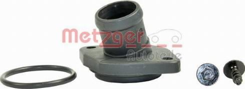Metzger 4010016 - Фланец охлаждающей жидкости car-mod.com