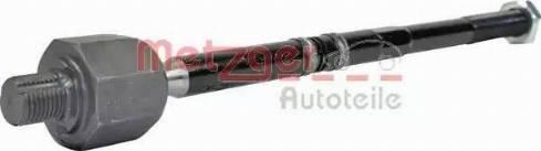 Metzger 51002818 - Осевой шарнир, рулевая тяга car-mod.com