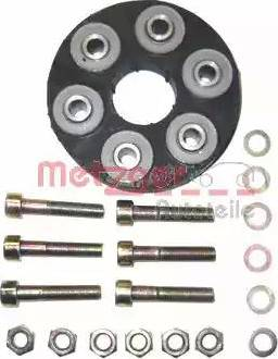 Metzger 8070451 - Эластичная муфта карданного вала car-mod.com