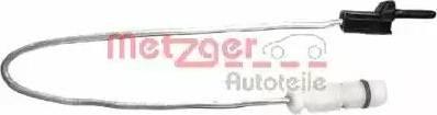 Metzger WK 17-207 - Сигнализатор, износ тормозных колодок autodnr.net