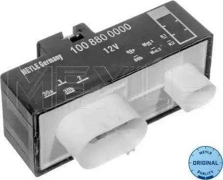 Meyle 100 880 0000 - Блок управления, эл. вентилятор (охлаждение двигателя) car-mod.com