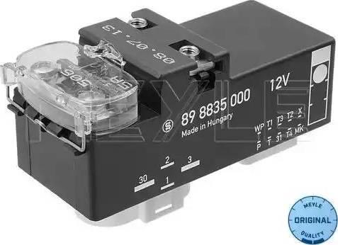 Meyle 100 880 0023 - Блок управления, эл. вентилятор (охлаждение двигателя) car-mod.com