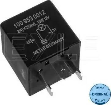 Meyle 1009530012 - Реле аварийной световой сигнализация car-mod.com