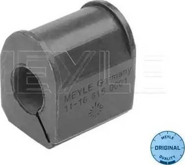 Meyle 11-16 615 0001 - Втулка стабілізатора, нижній сайлентблок autocars.com.ua