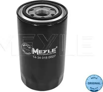 Meyle 14-34 018 0007 - Масляний фільтр autocars.com.ua