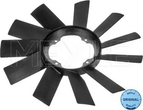 Meyle 300 115 0004 - Крильчатка вентилятора, охолодження двигуна autocars.com.ua