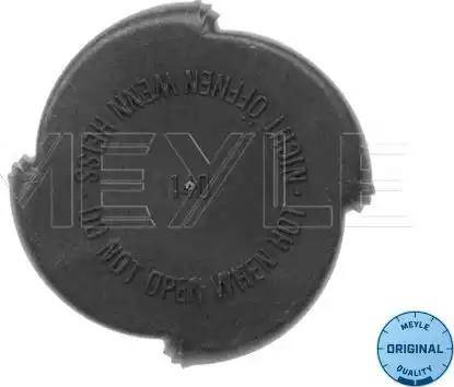 Meyle 314 800 9005 - Кришка, резервуар охолоджуючої рідини autocars.com.ua