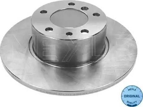 Meyle 315 521 3006 - Тормозной диск autodnr.net
