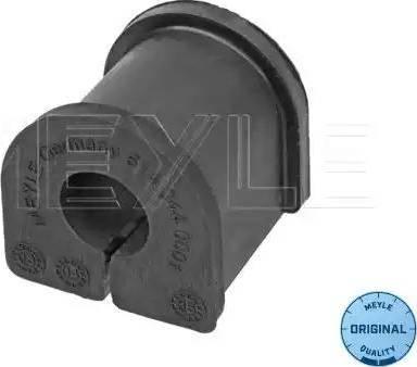 Meyle 614 044 0001 - Втулка стабілізатора, нижній сайлентблок autocars.com.ua
