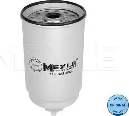 Meyle 714 323 0000 - Паливний фільтр autocars.com.ua