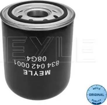 Meyle 8340420001 - Патрон осушителя воздуха, пневматическая система car-mod.com