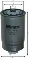 Mfilter DF 326 - Паливний фільтр autocars.com.ua