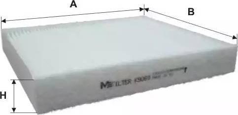 Mfilter K 9069 - Фильтр салонный autodnr.net