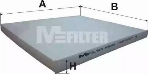 Mfilter k9093 - Фильтр салонный autodnr.net