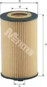 Mfilter TE 627 - Масляний фільтр autocars.com.ua