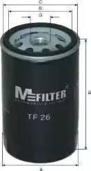 Mfilter TF 26 - Масляный фильтр autodnr.net